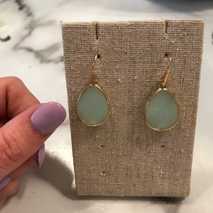 Stella & Dot Jeweled drop earrings